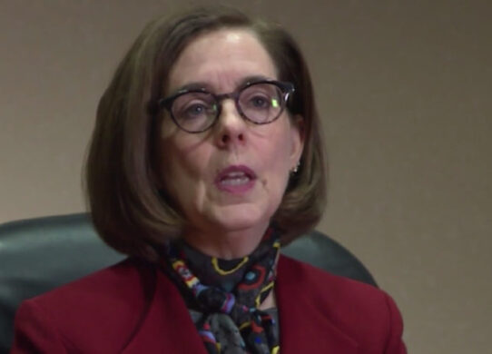 Oregon Governor Issues warning